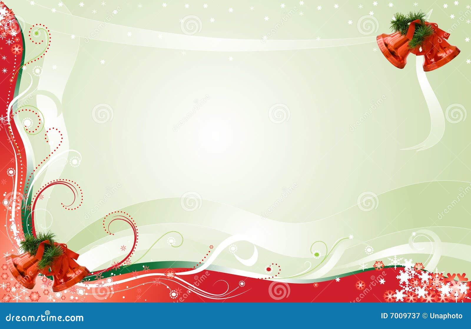 Fondo De La Tarjeta De Navidad Con El Sitio Para El Texto ...
