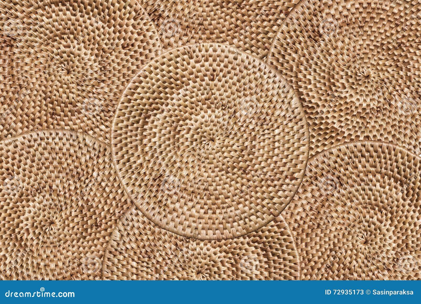 Fondo de la textura de la rota de la armadura, arreglando las capas de tradición tejidas alrededor de la bandeja, fondo de la tex