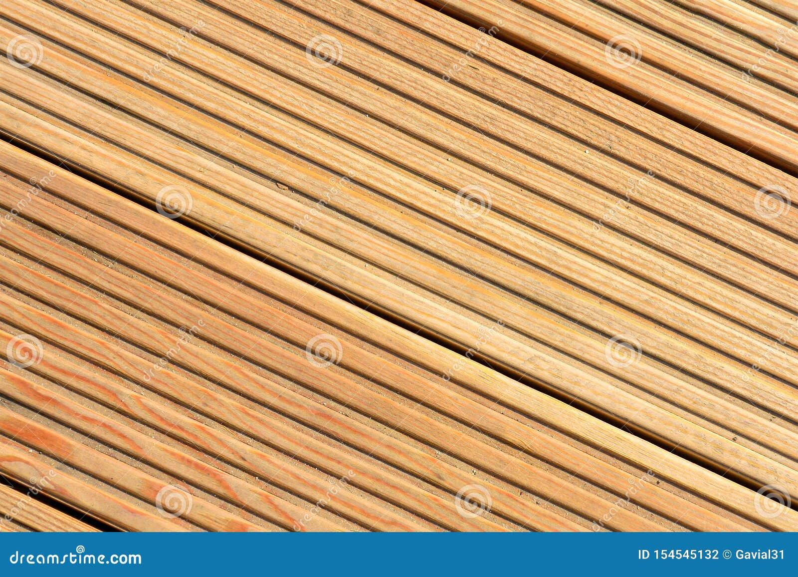 Fondo de la textura del Decking Fondo natural de la textura del decking de madera