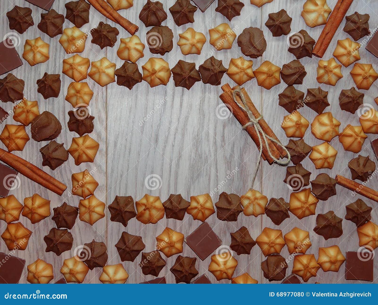 Fondo de las galletas