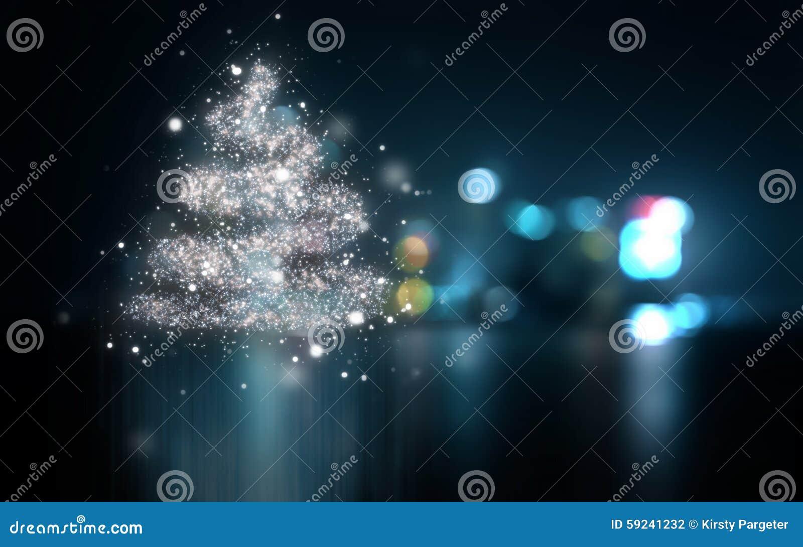 Download Fondo De Las Luces De La Navidad Stock de ilustración - Ilustración de holiday, luces: 59241232