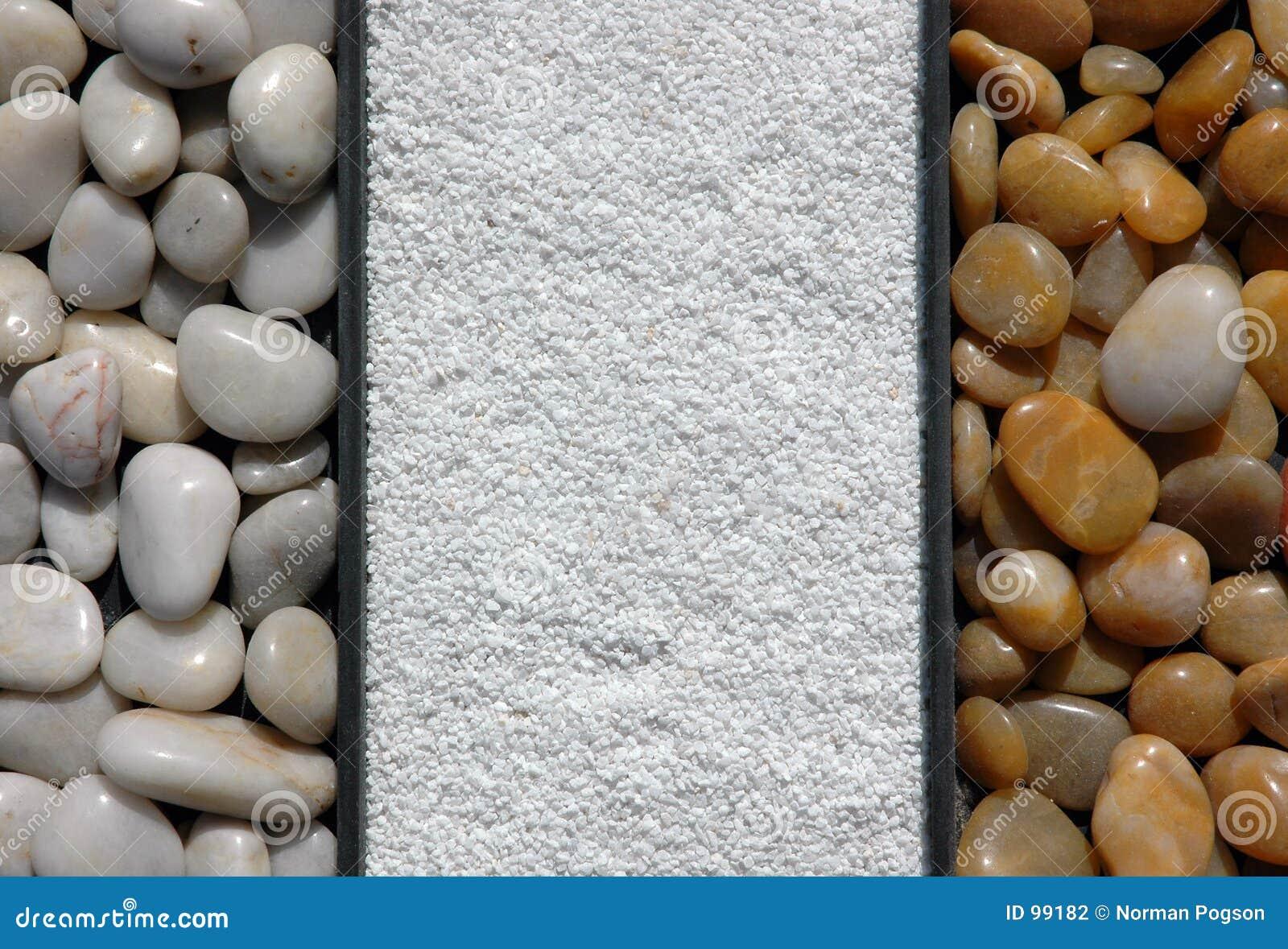 Fondo de los elementos de la roca