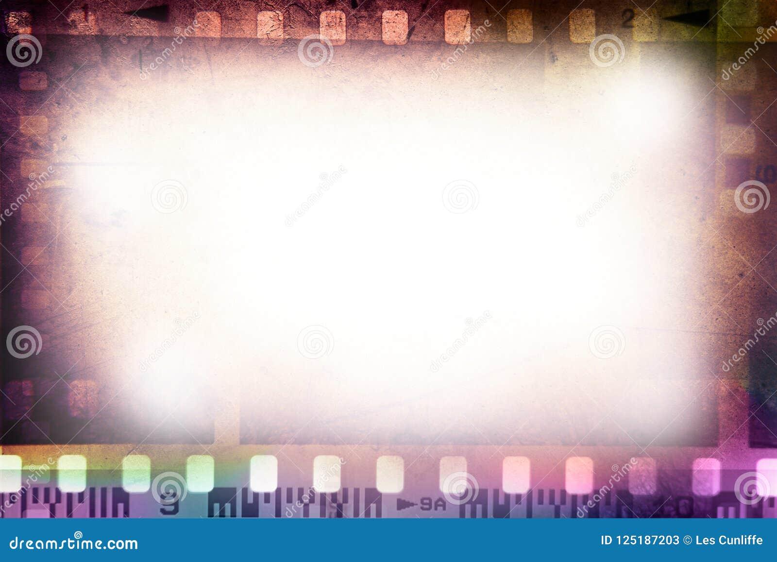 Fondo de los marcos de película