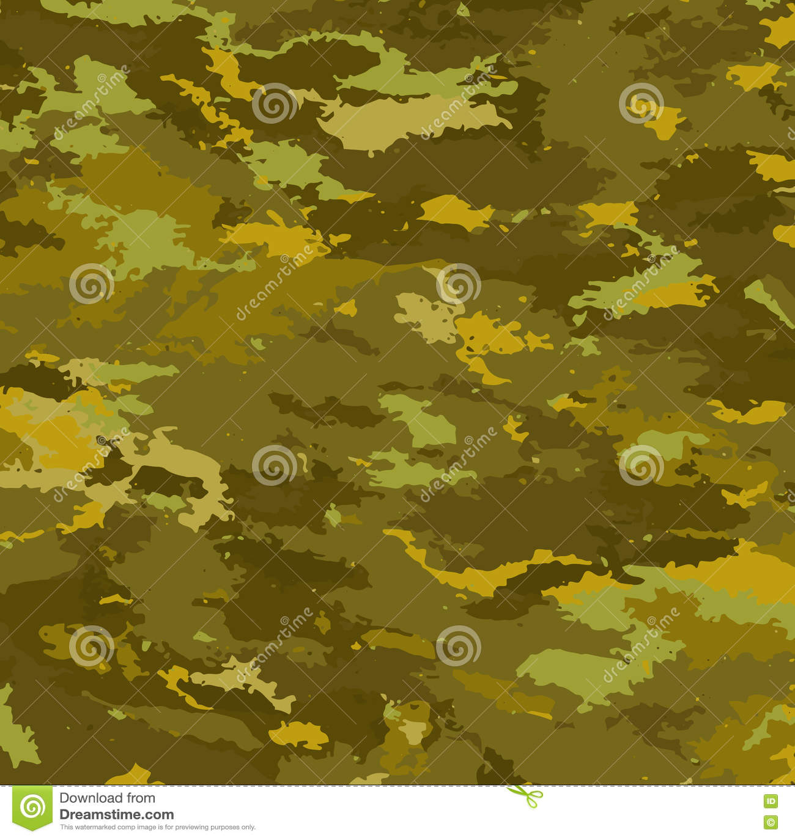 Fondo De Los Militares Del Camuflaje Ilustración del Vector