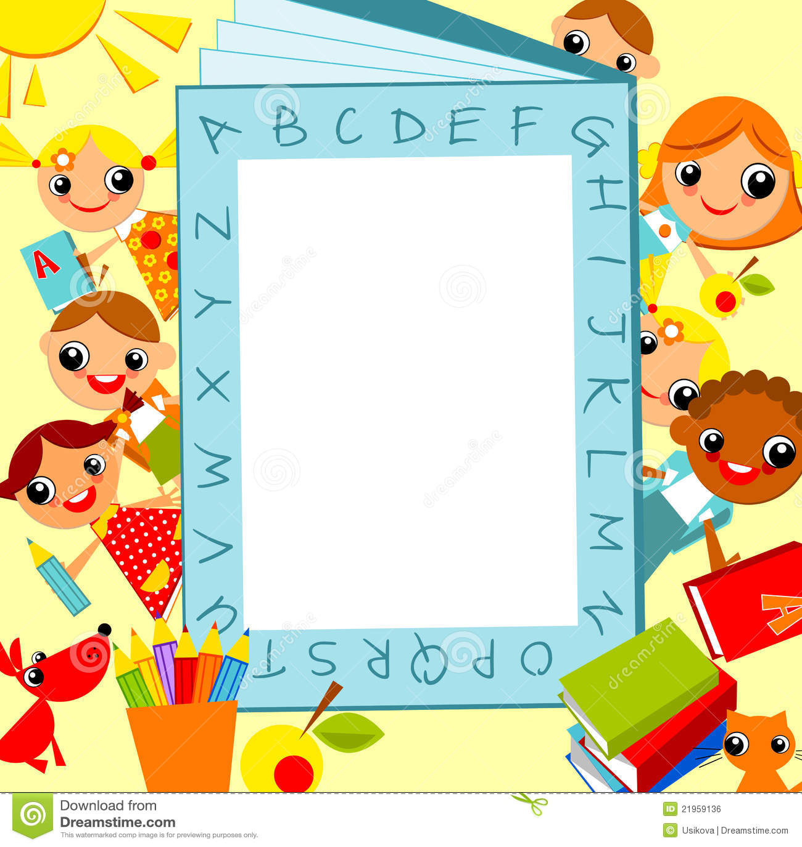 Bright Children's Background