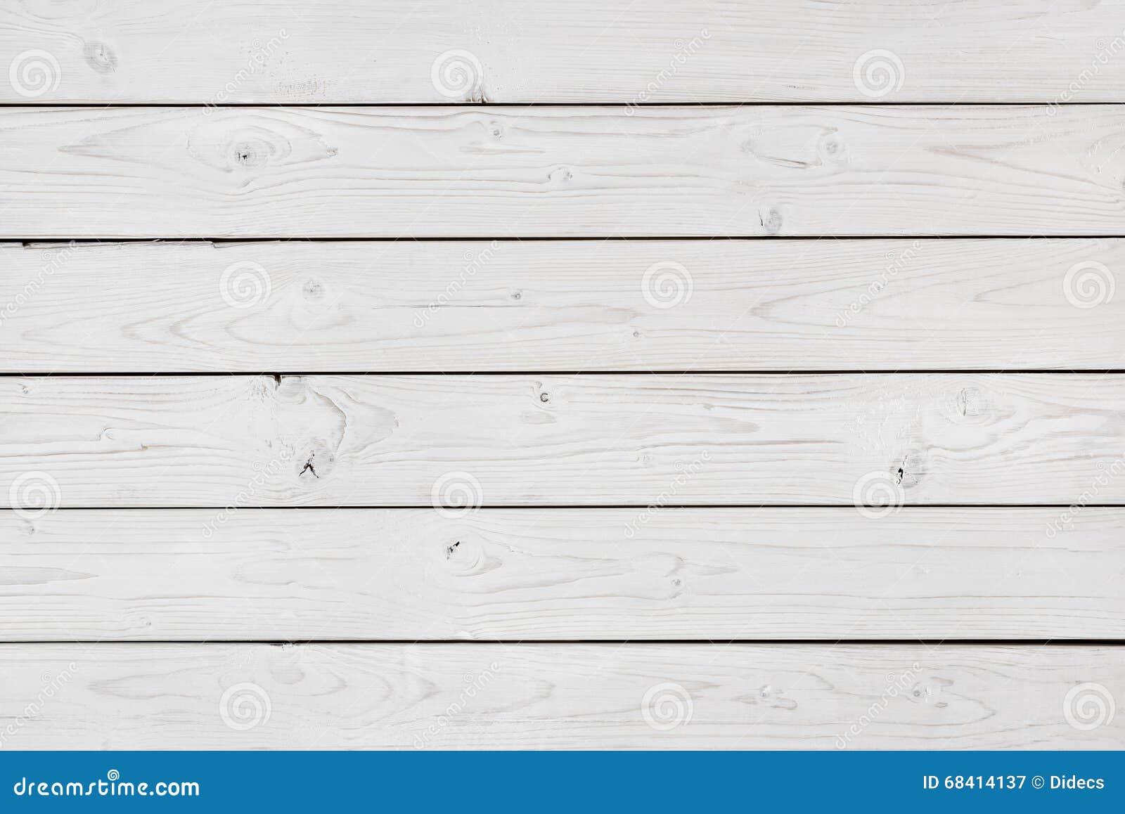 Fondo de madera blanqueado de la textura del extracto de la pared de los tablones