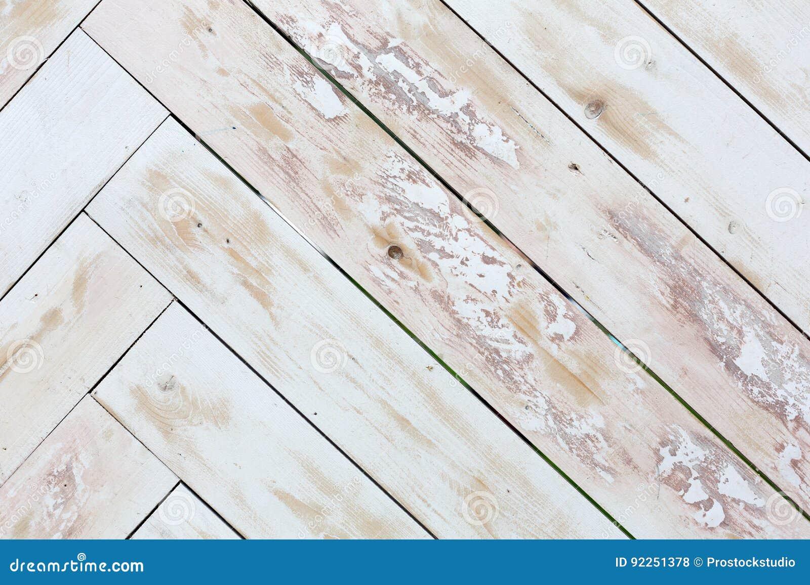 Fondo de madera de la textura, entarimado pintado sucio
