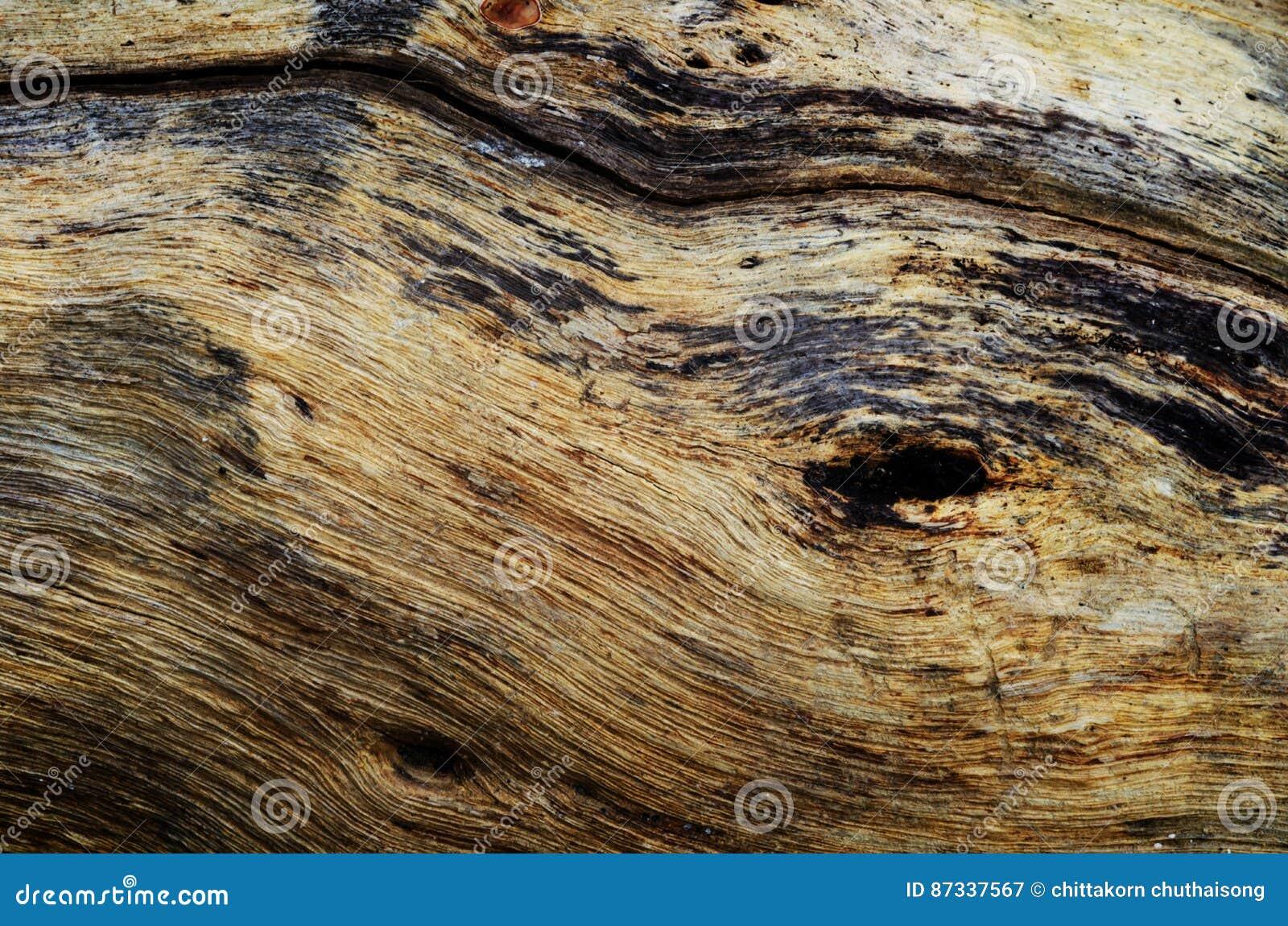 Fondo de madera de la textura textura de madera marrón con golpeteo natural