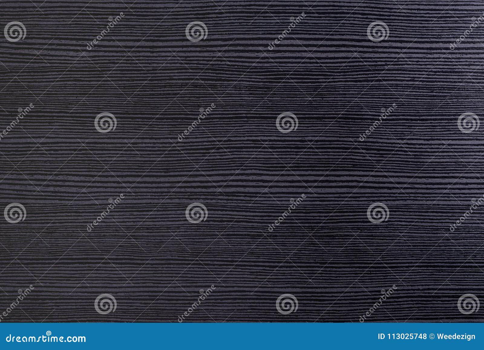 Fondo de madera moderno negro de la textura del tablero, opinión de sobremesa