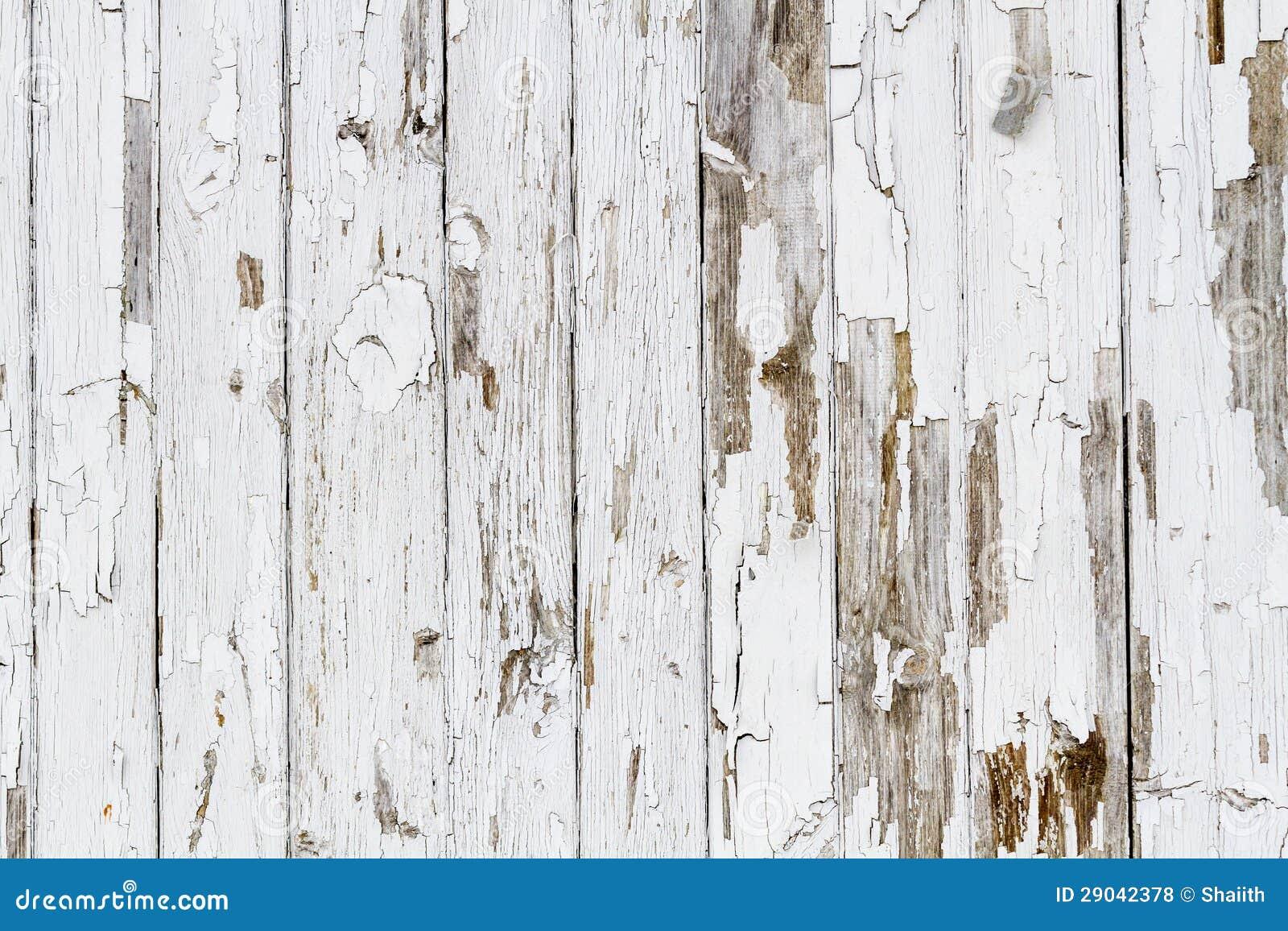 Fondo de madera resistido viejo blanco