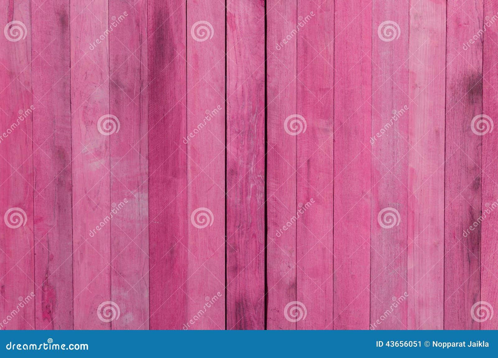 Fondo de madera rosado de la textura