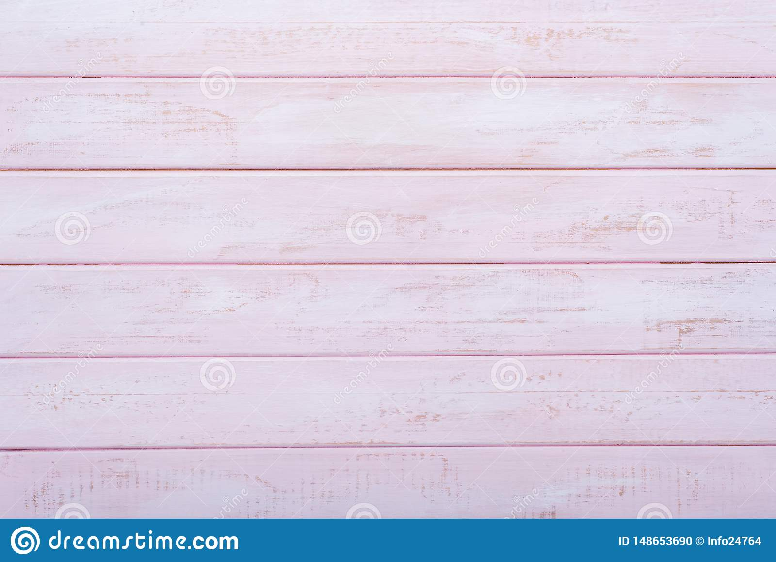 Fondo de madera rosado de la pared Endecha plana