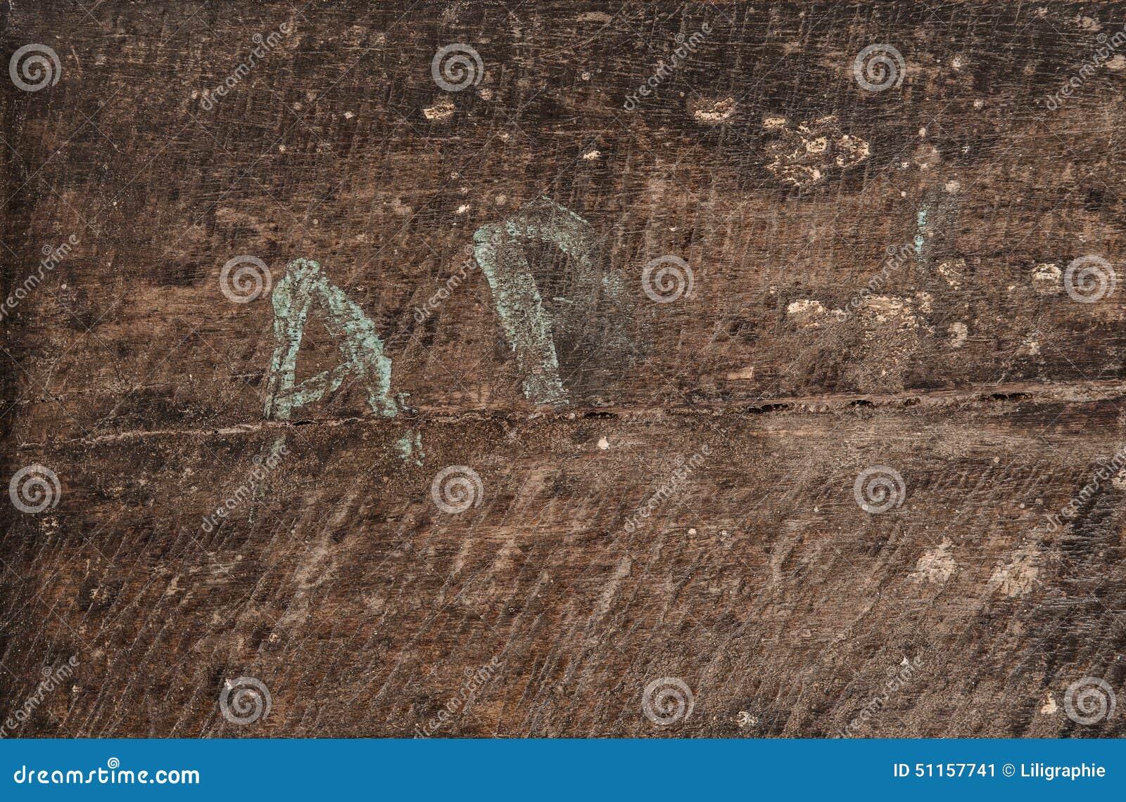 Fondo de madera usado de la textura de la mirada abstraiga el fondo