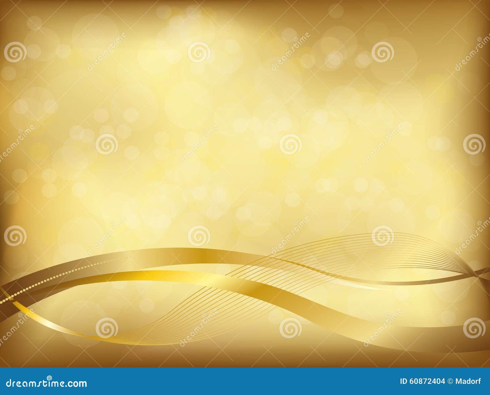 Fondo de oro elegante