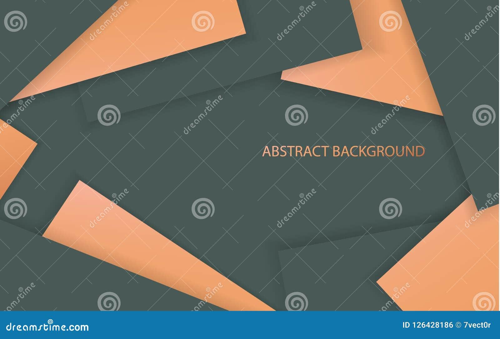 Fondo de papel acodado extracto del estilo