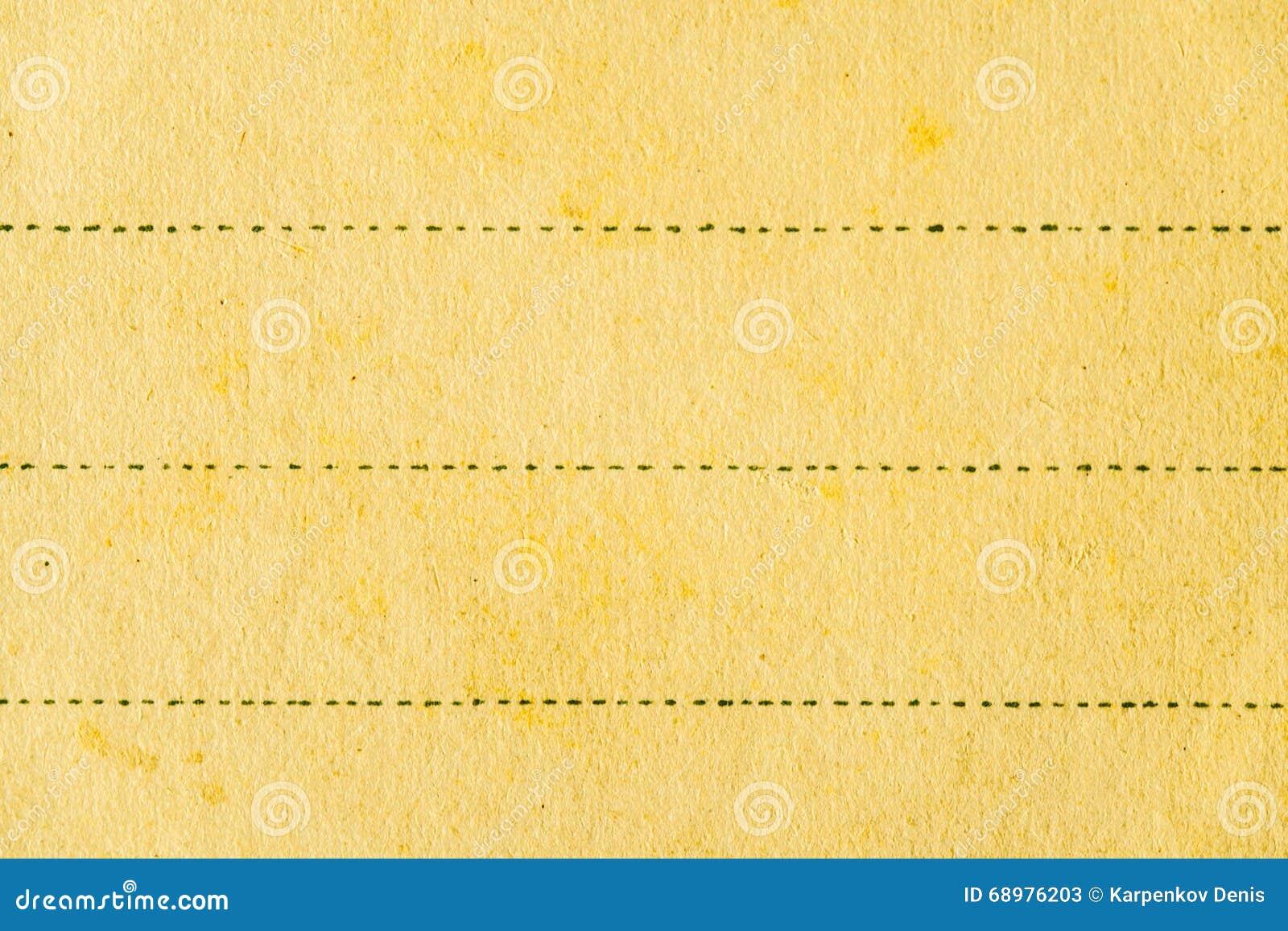 Fondo de papel con la línea negra
