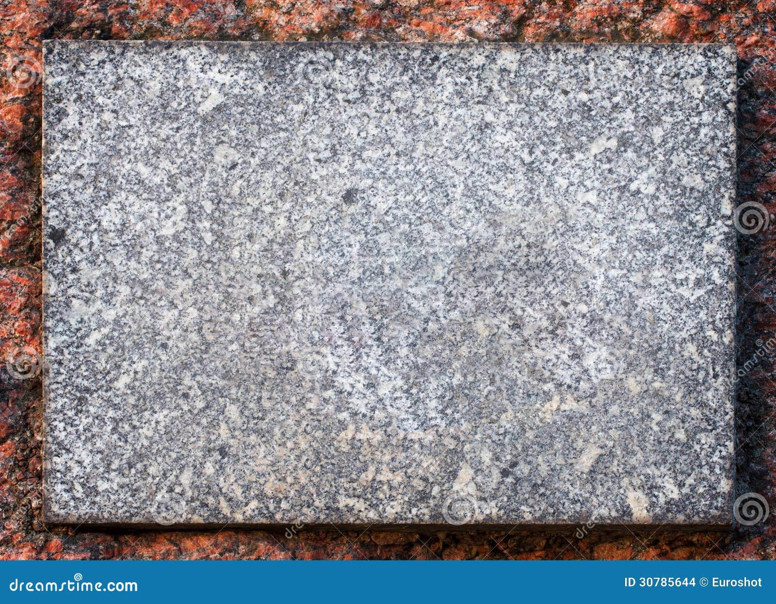 Fondo de piedra de la placa del granito imagenes de for Granito en piedra
