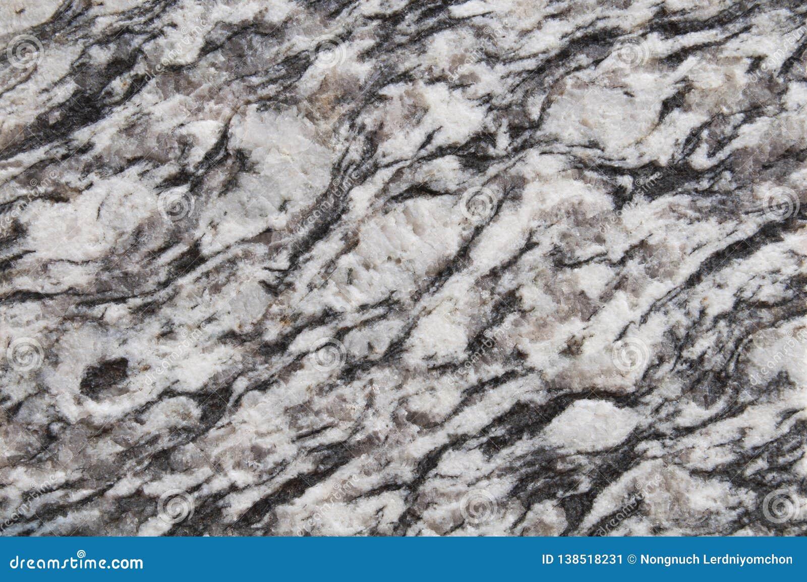 Fondo de piedra marrón blanco y negro, oscuro de la textura del granito pared, granito del negro del piso, diseño o abstra natura