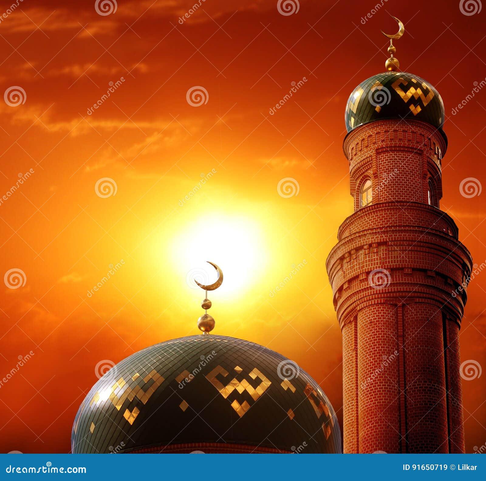 Fondo de Ramadan Kareem Eid Mubarak de saludo islámico carda a las FO