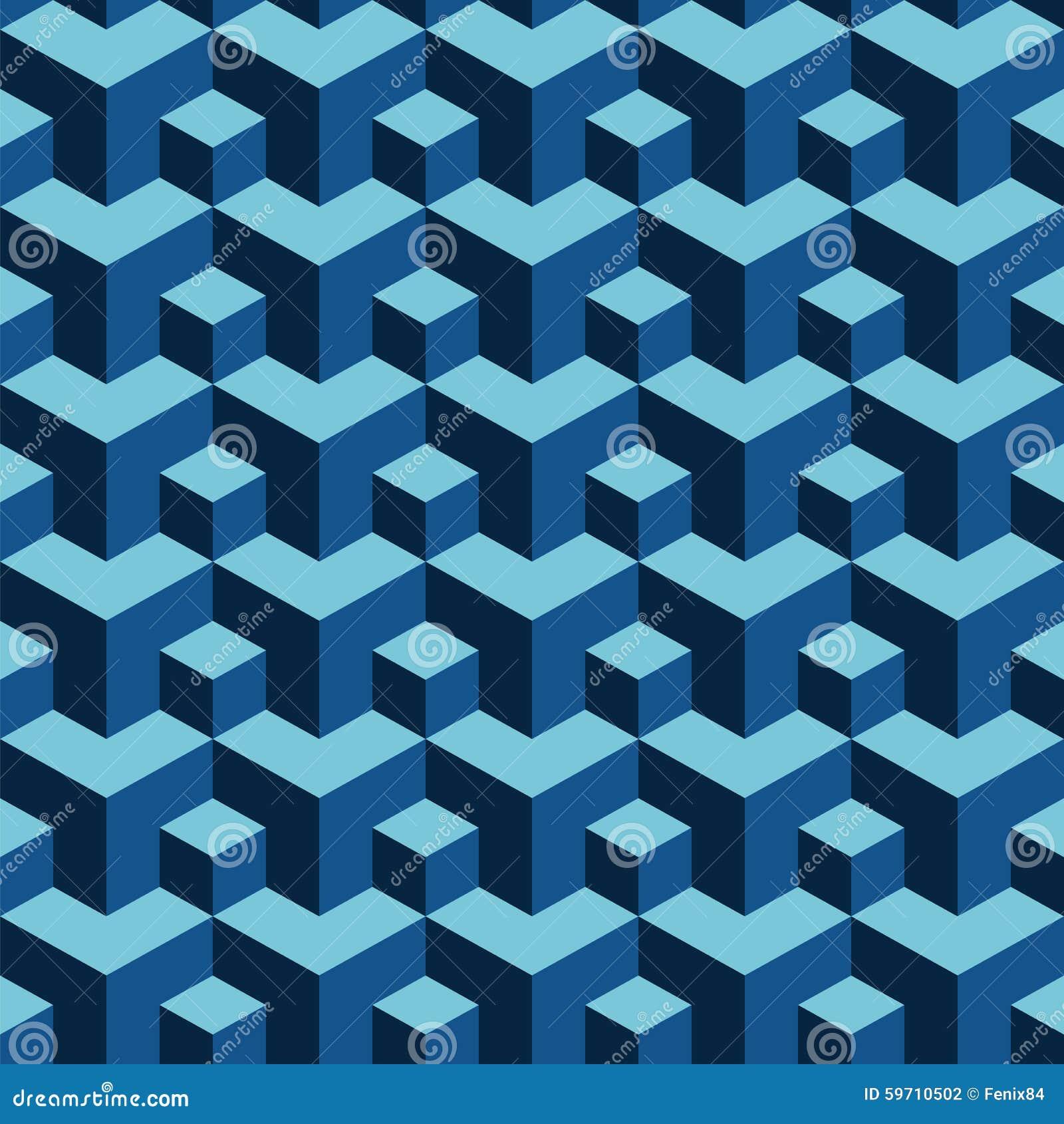 fondo de repetir bloques tridimensionales ilustraci n del