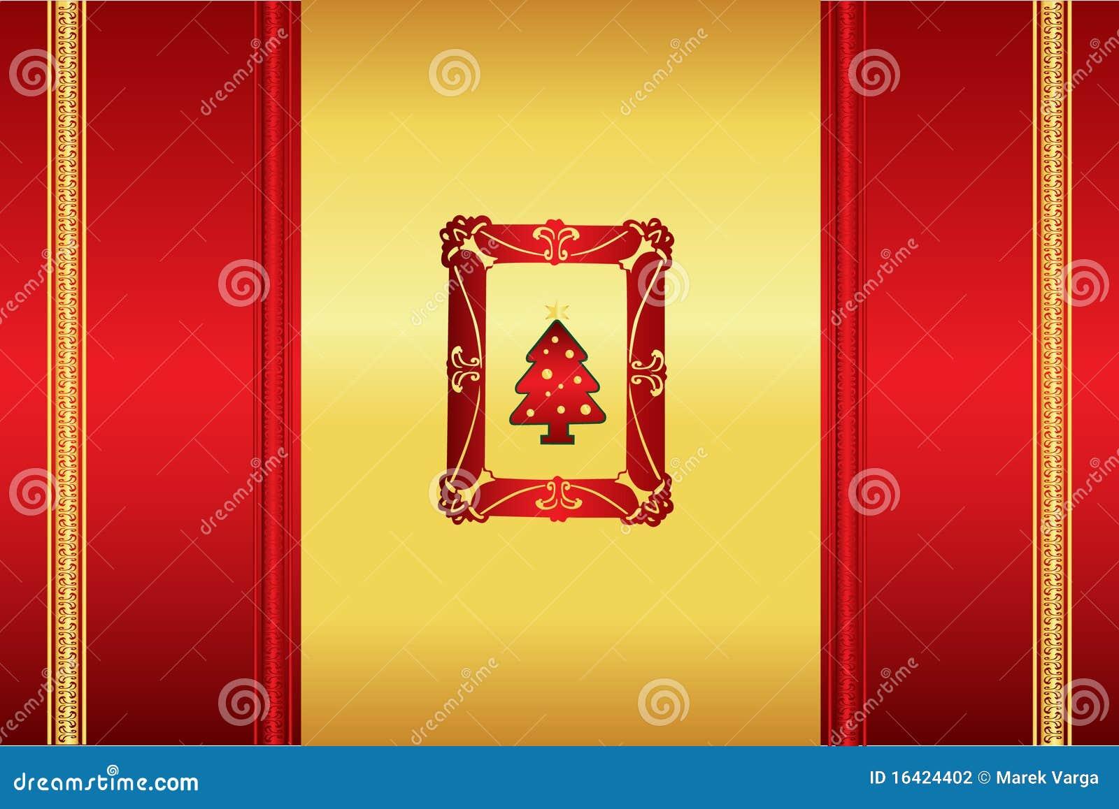 Fondo decente hermoso de la Navidad
