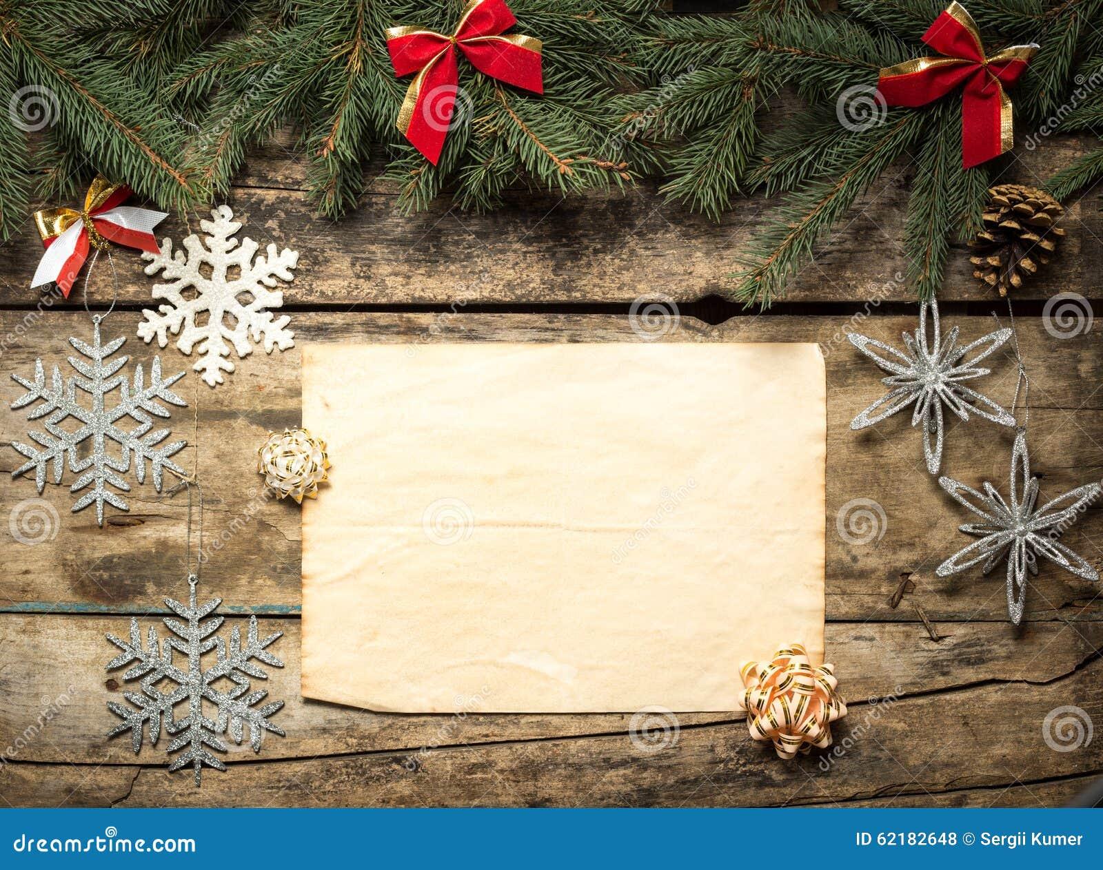 Fondo decorativo de la Navidad