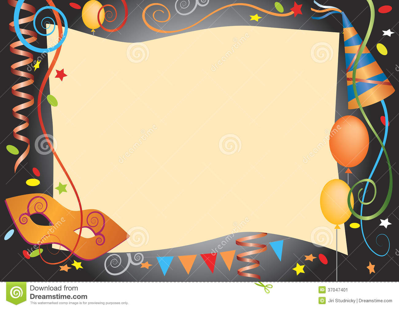 Carnival Party Invitation as perfect invitations template