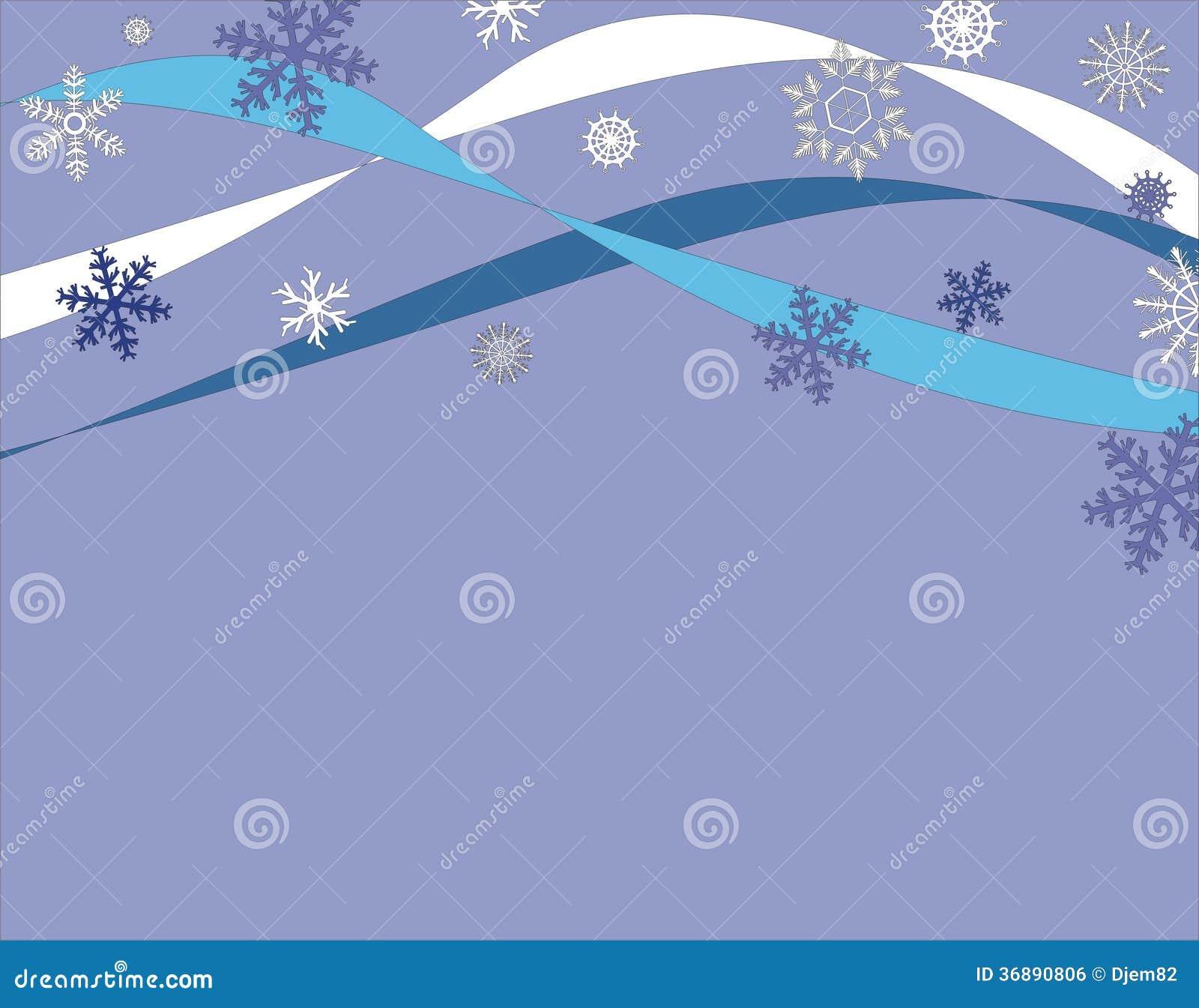 Download Fondo dei fiocchi di neve illustrazione vettoriale. Illustrazione di illustrazione - 36890806