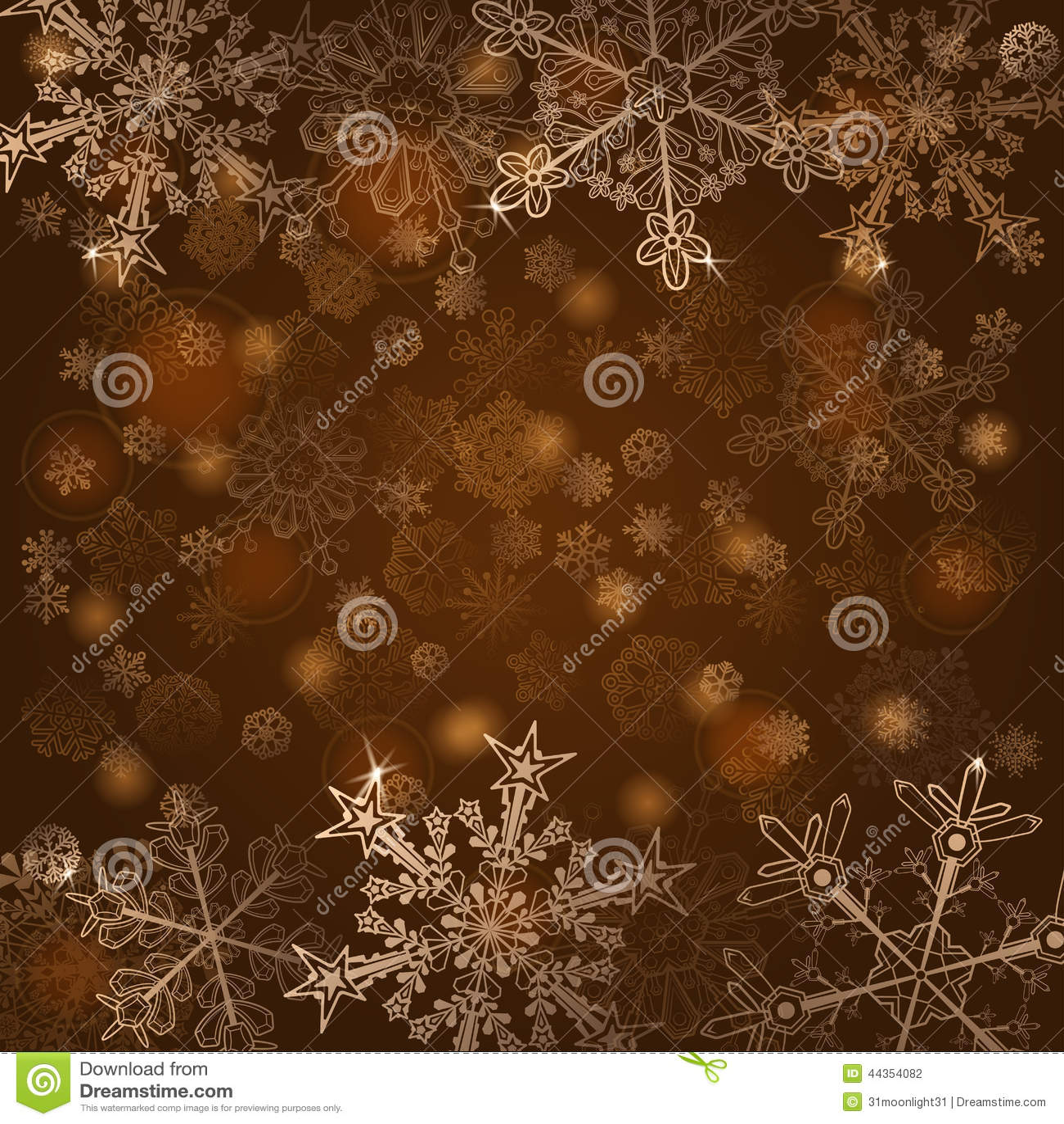 Fondo dei fiocchi di neve