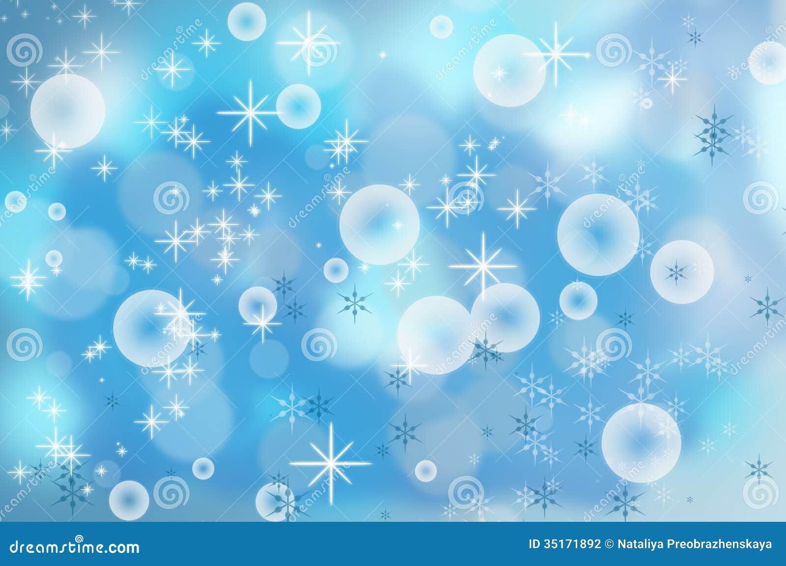Fondo dei fiocchi di neve di Natale