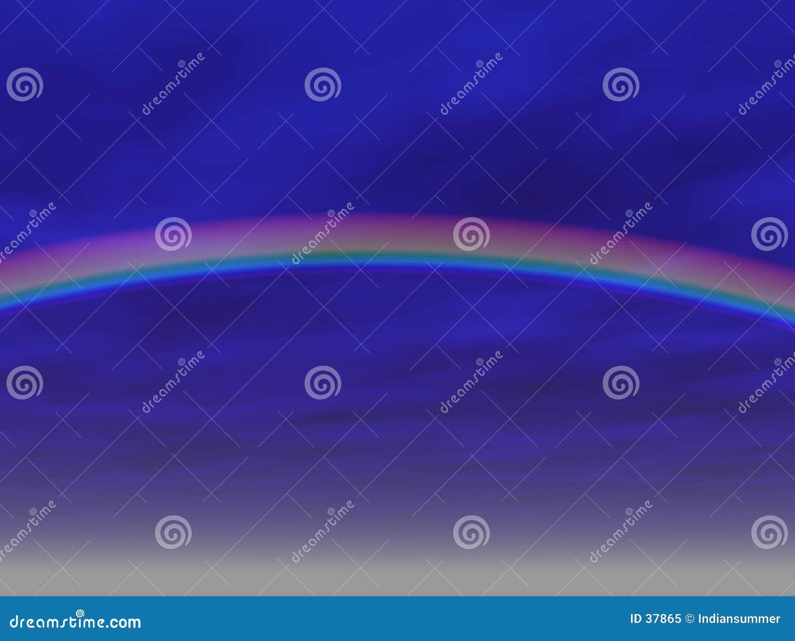 Download Fondo del arco iris stock de ilustración. Ilustración de nubes - 37865