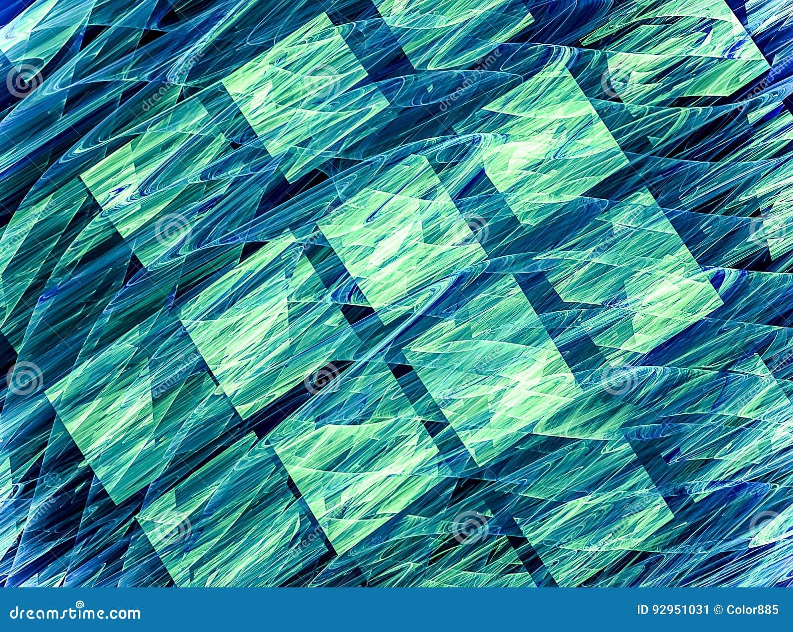 Fondo del arte del fractal para el diseño creativo