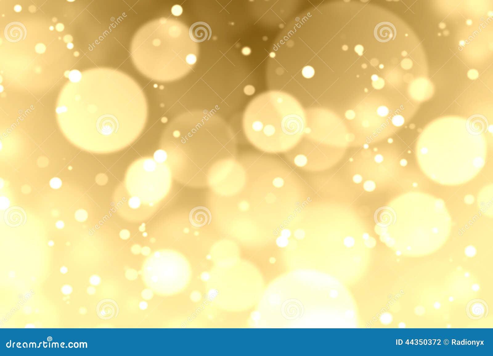 Fondo del bokeh dell oro