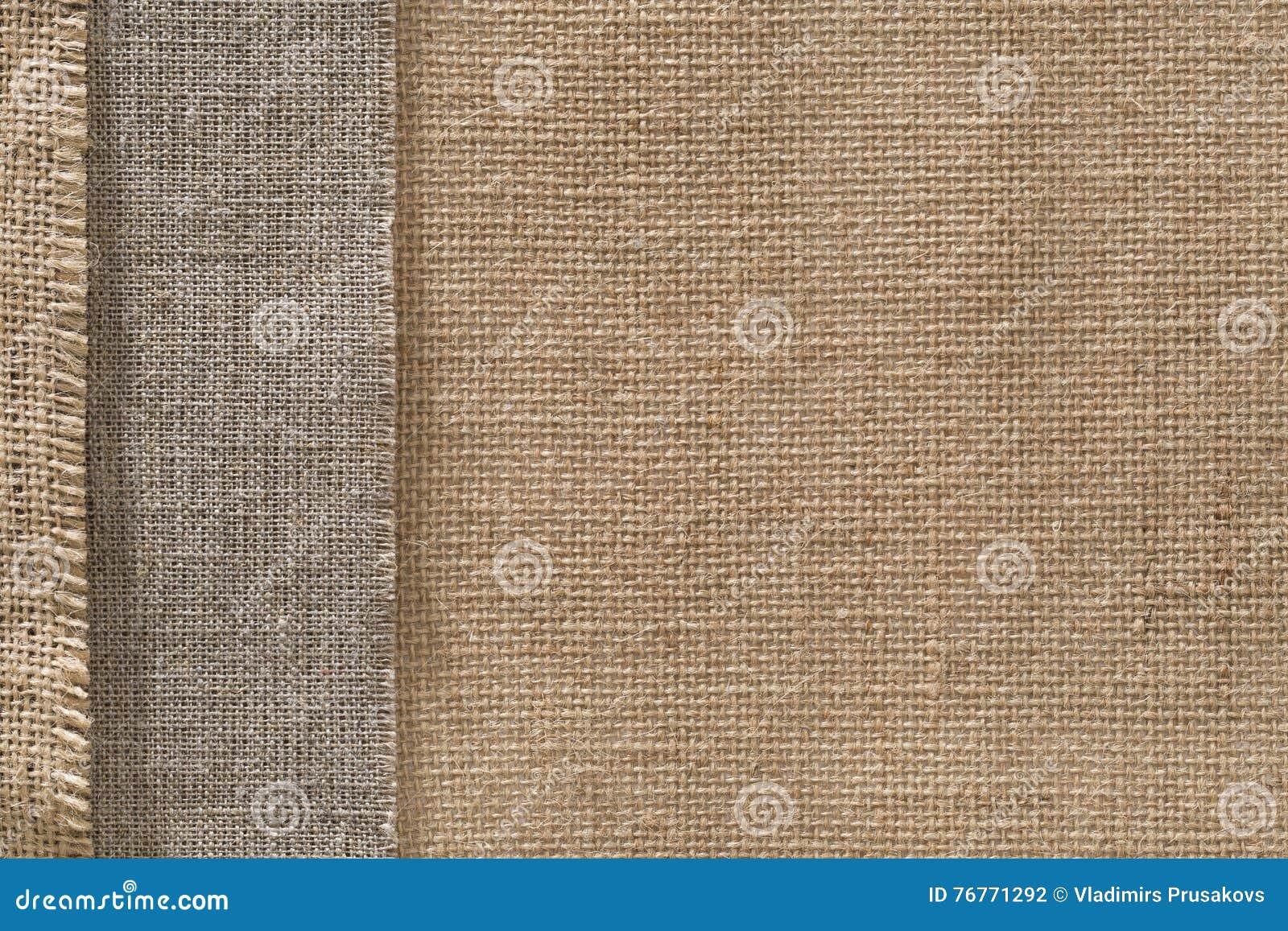 Fondo del bordo del panno di sacco del tessuto della tela da imballaggio, confine della tela di sacco