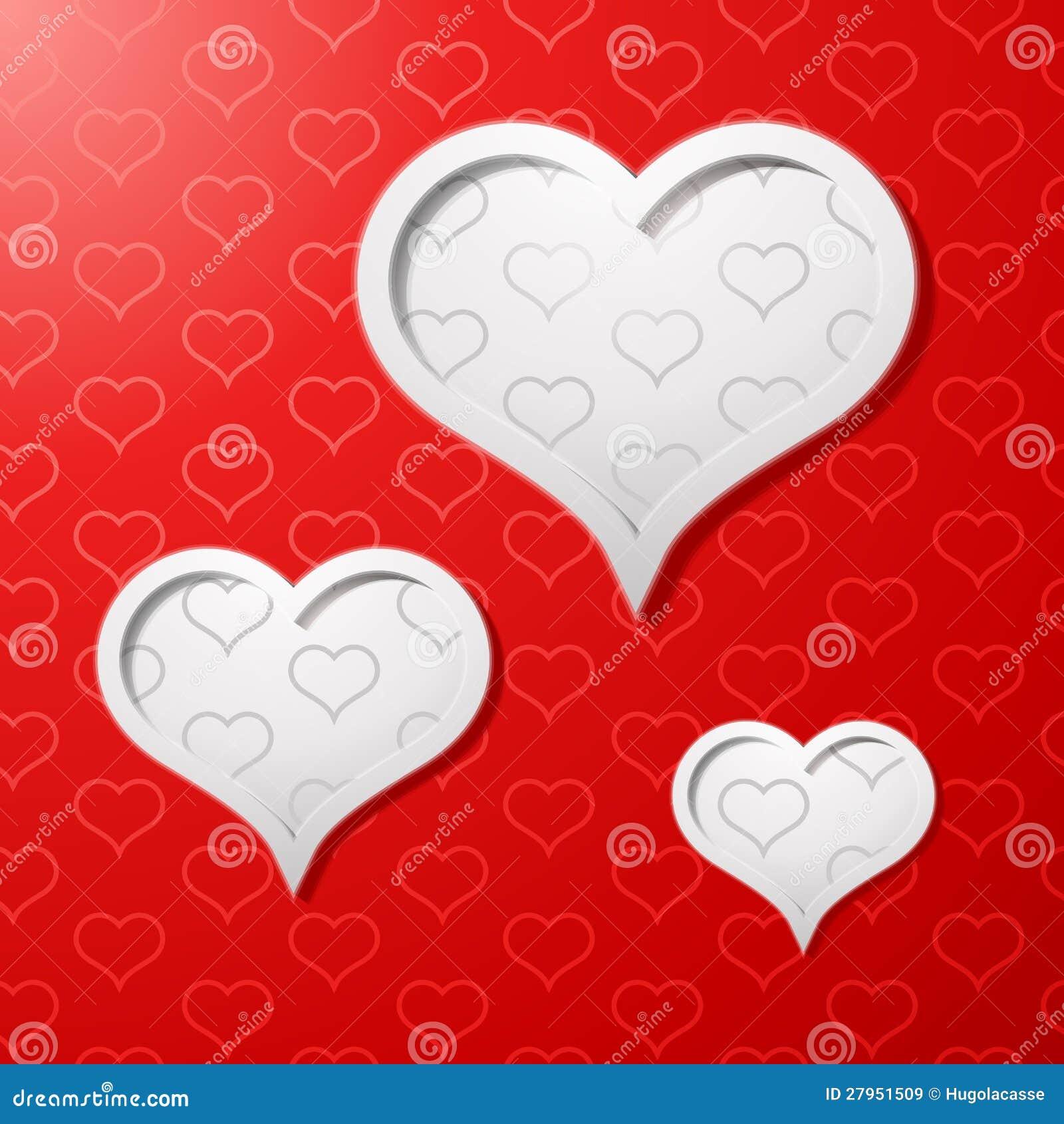 Fondo del concepto de la tarjeta del día de tarjetas del día de San Valentín