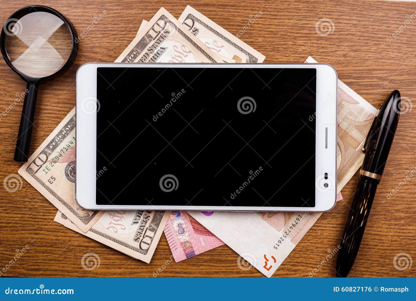 Fondo del concepto del dispositivo móvil