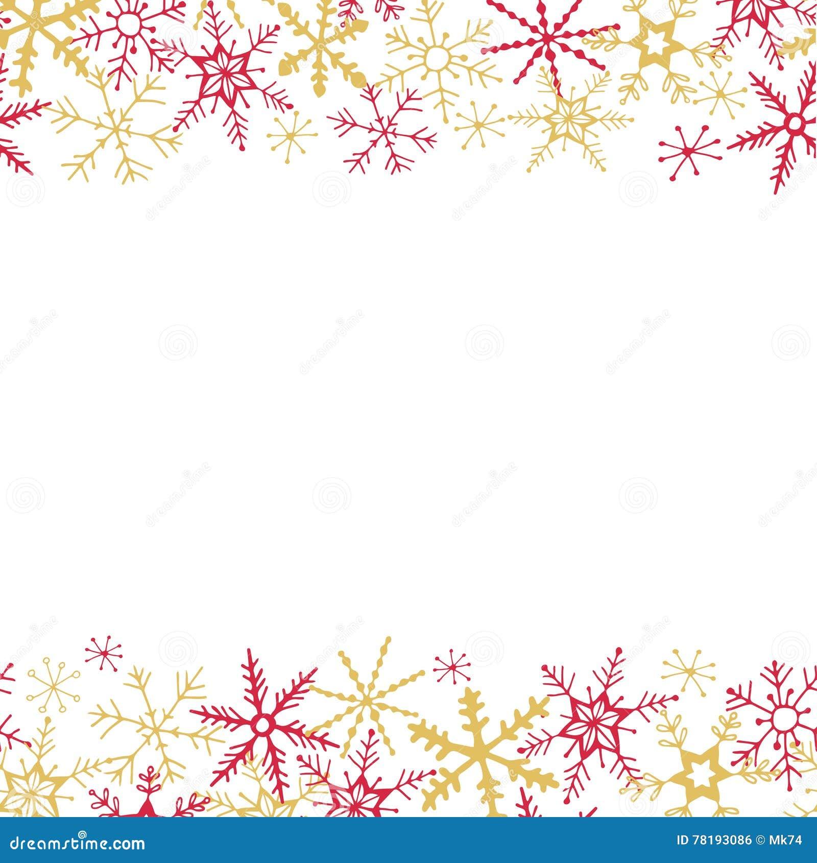 Fondo del copo de nieve del invierno