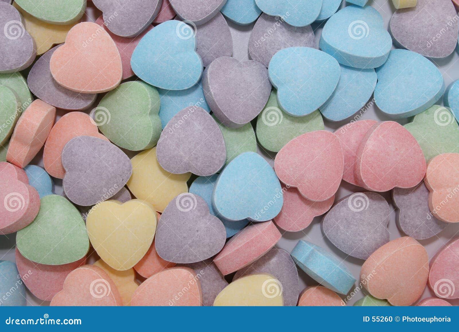Fondo del corazón del caramelo (imagen 8.2mp)