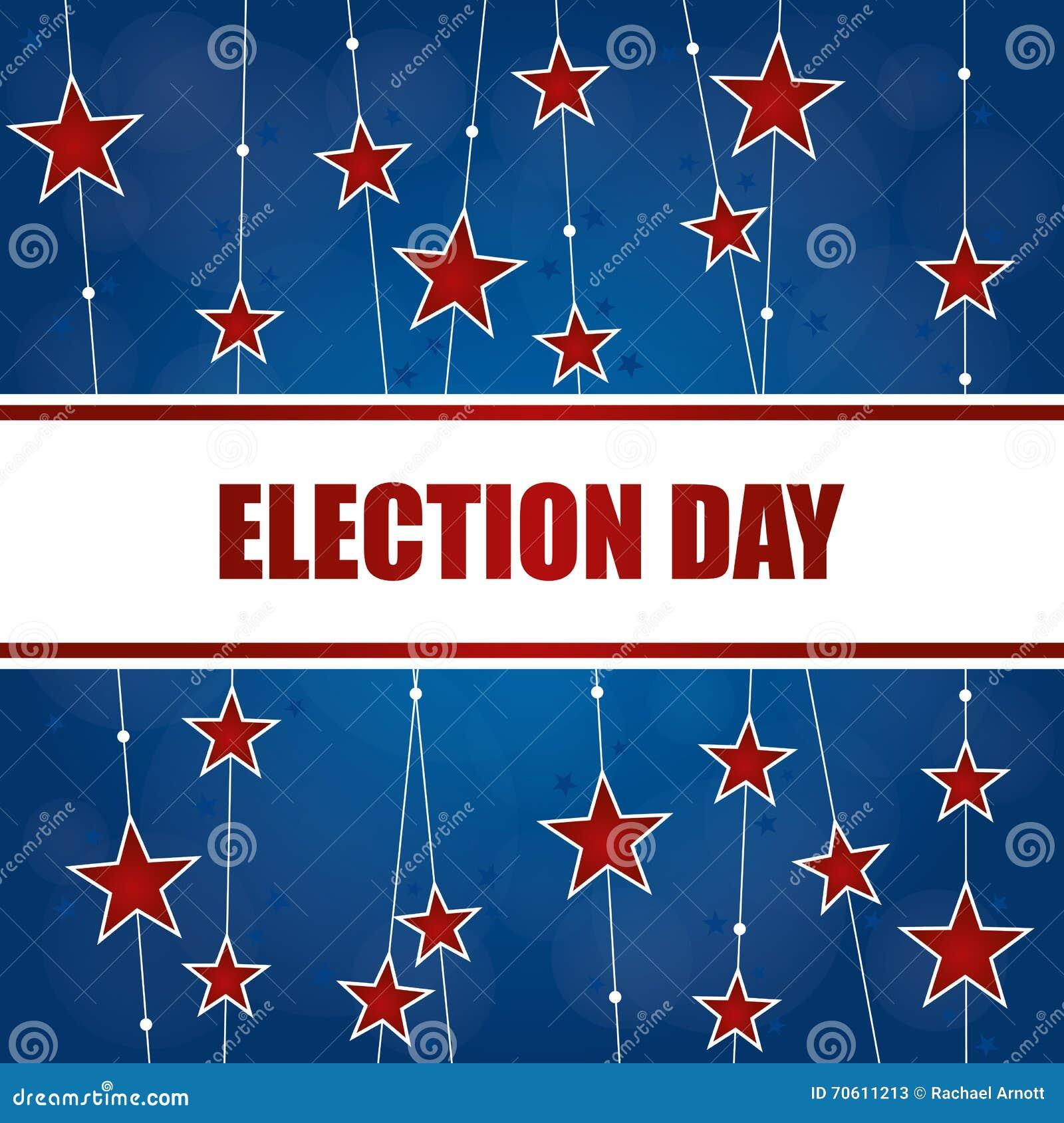 Fondo del día de elección