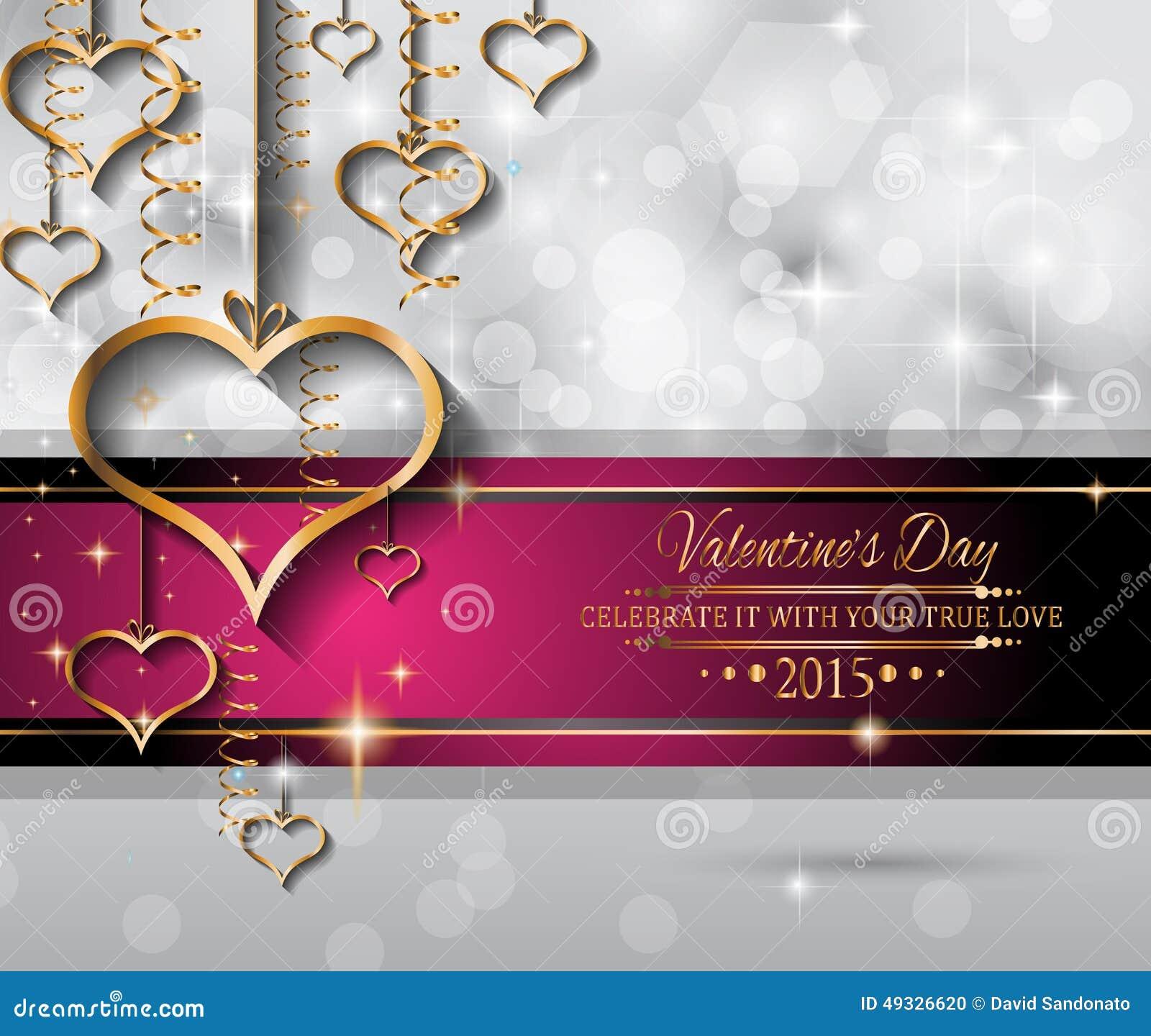 Fondo Del Día De Tarjetas Del Día De San Valentín Para Las