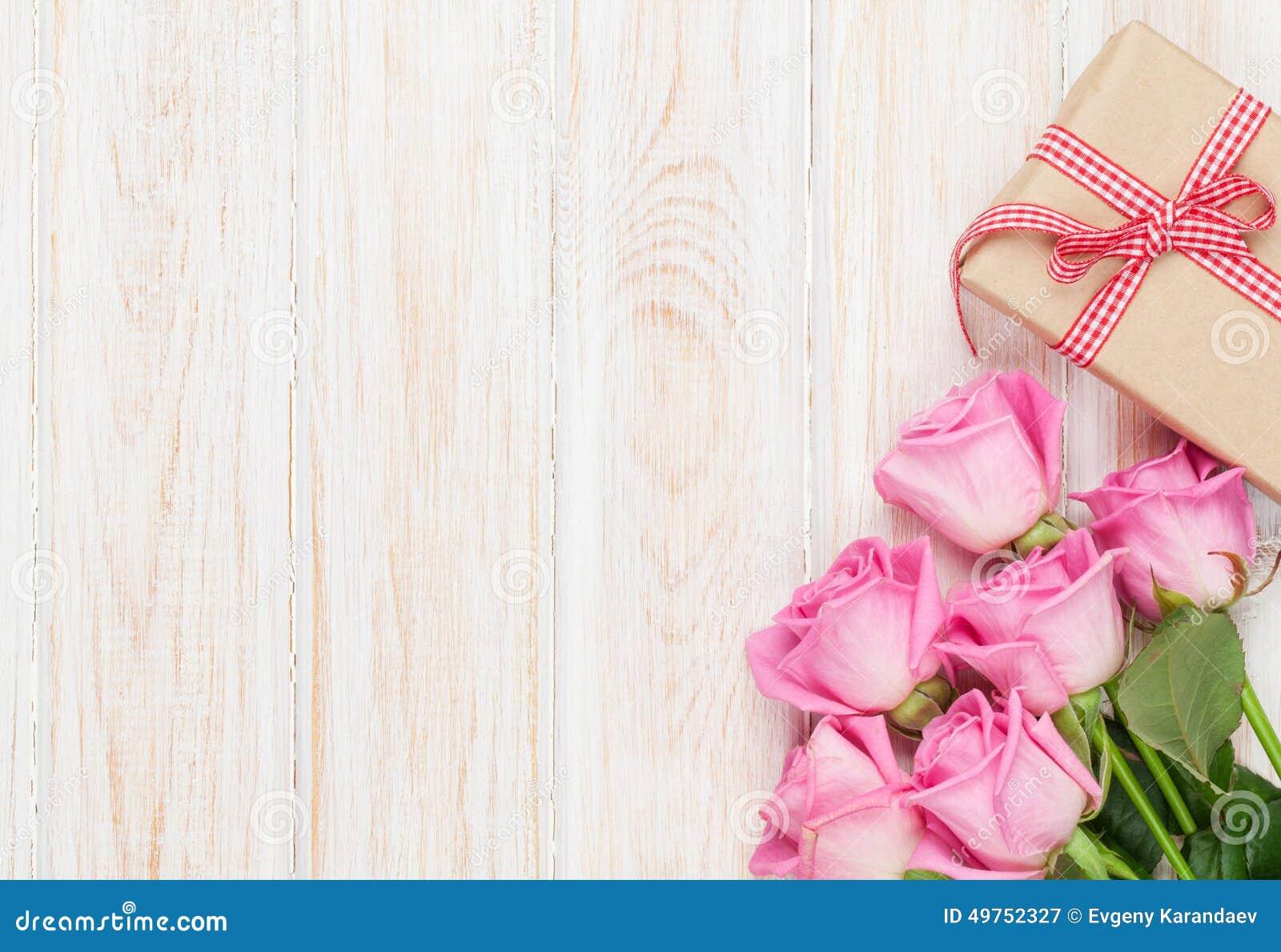 Fondo De Pantalla Dia De San Valentin Regalo Con Rosa: Fondo Del Día De Tarjetas Del Día De San Valentín Con