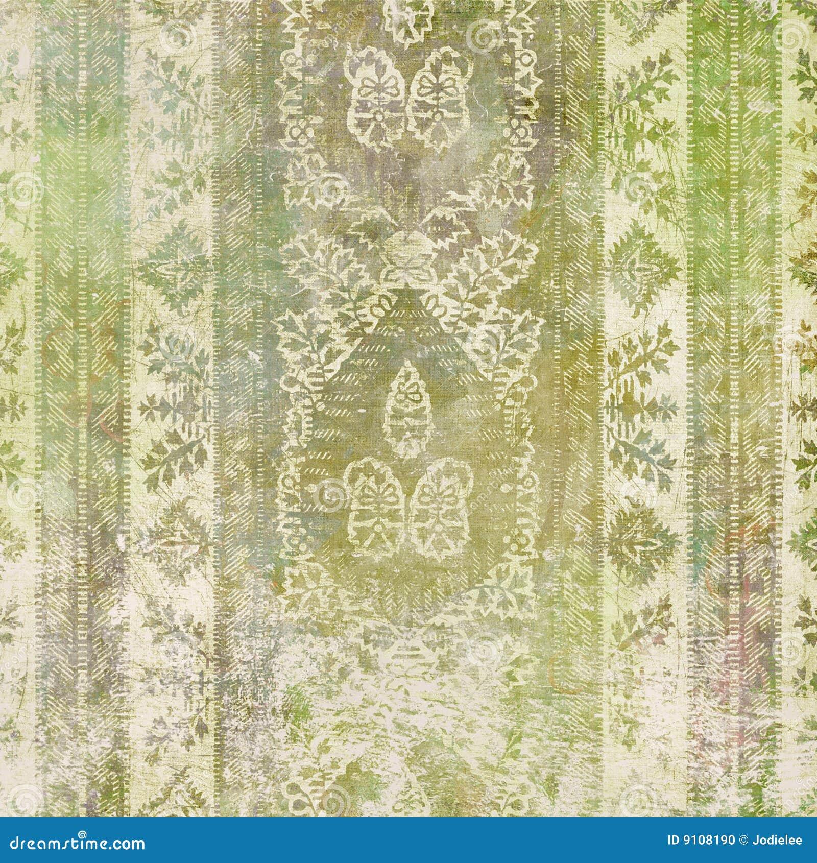 Fondo del diseño floral del batik de Artisti