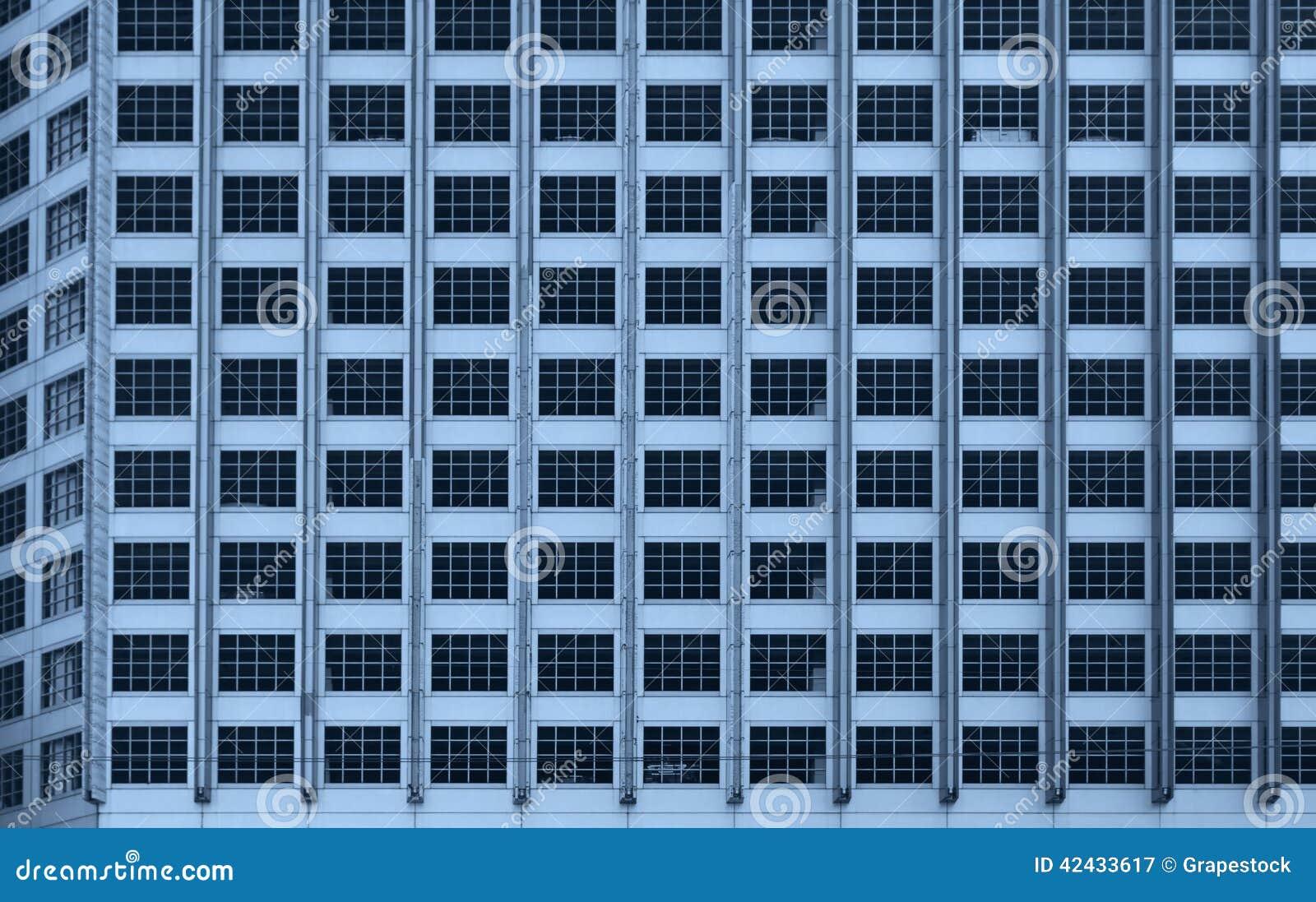 Fondo del edificio de oficinas de Windows