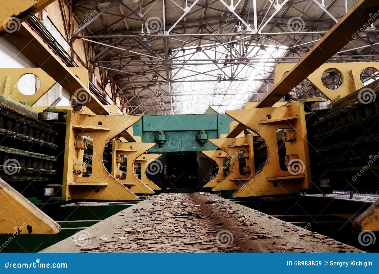 Fondo del equipo industrial