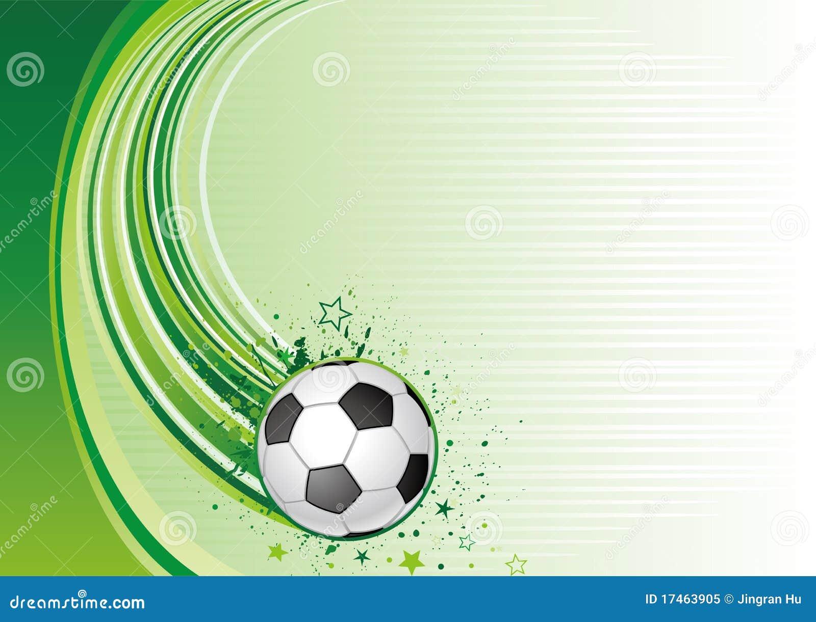 Vector Deportes Bolas Patrón De Fondo: Fondo Del Fútbol Ilustración Del Vector. Ilustración De