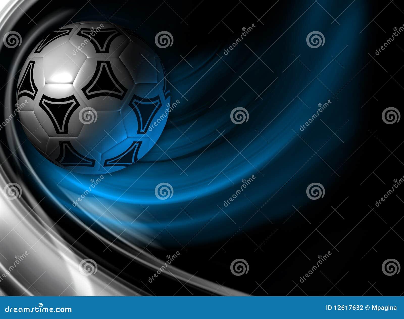 Fondo del f tbol 3d rinden stock de ilustraci n imagen for Fondos de futbol