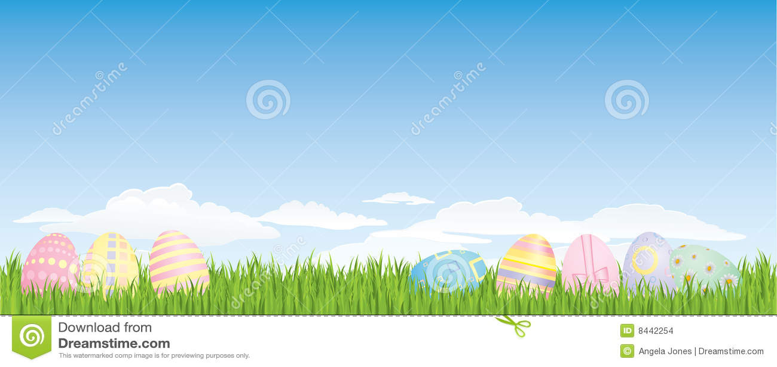 Fondo del huevo de Pascua