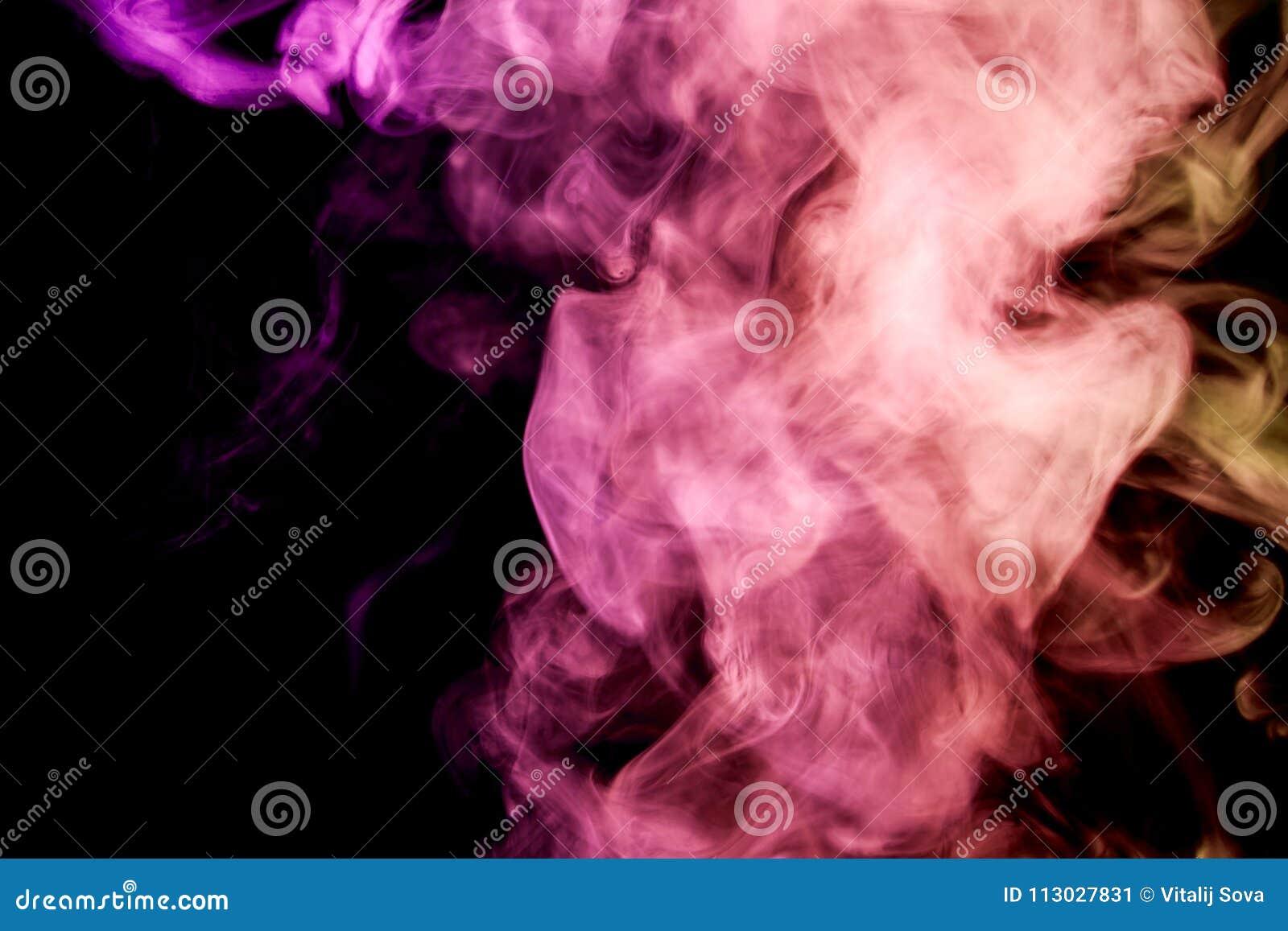 Fondo del humo del vape