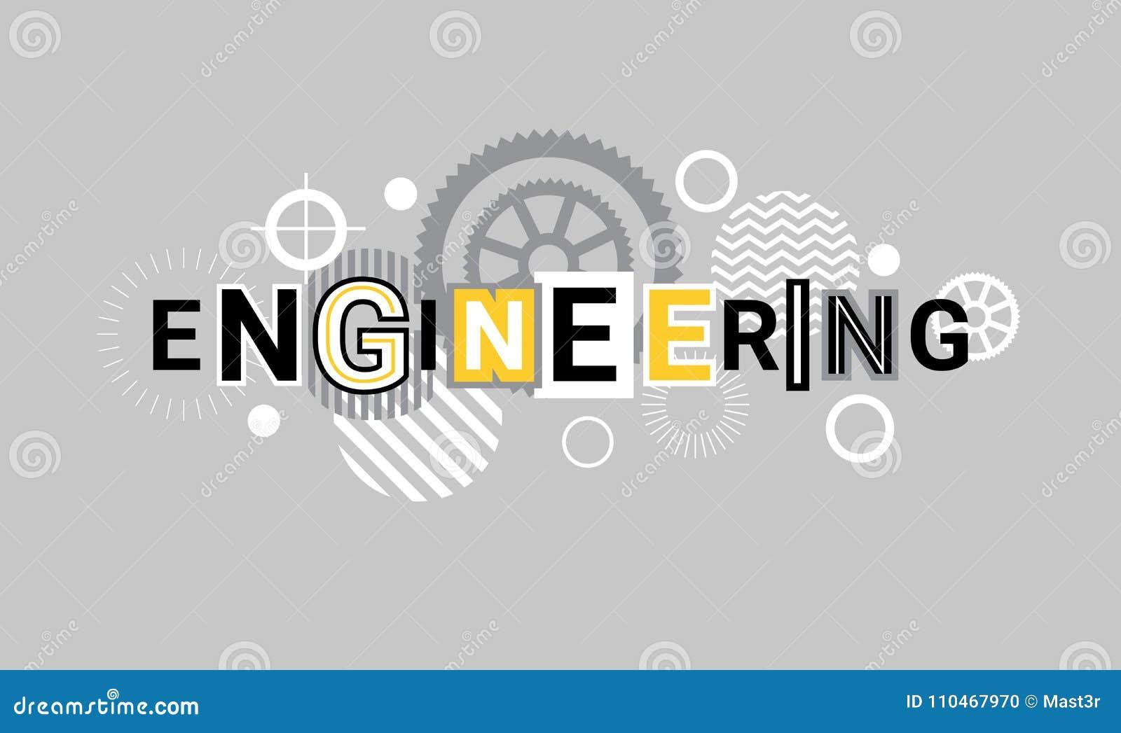 Fondo del modello dell estratto dell insegna di web di tecnologia di industria di ingegneria con gli ingranaggi