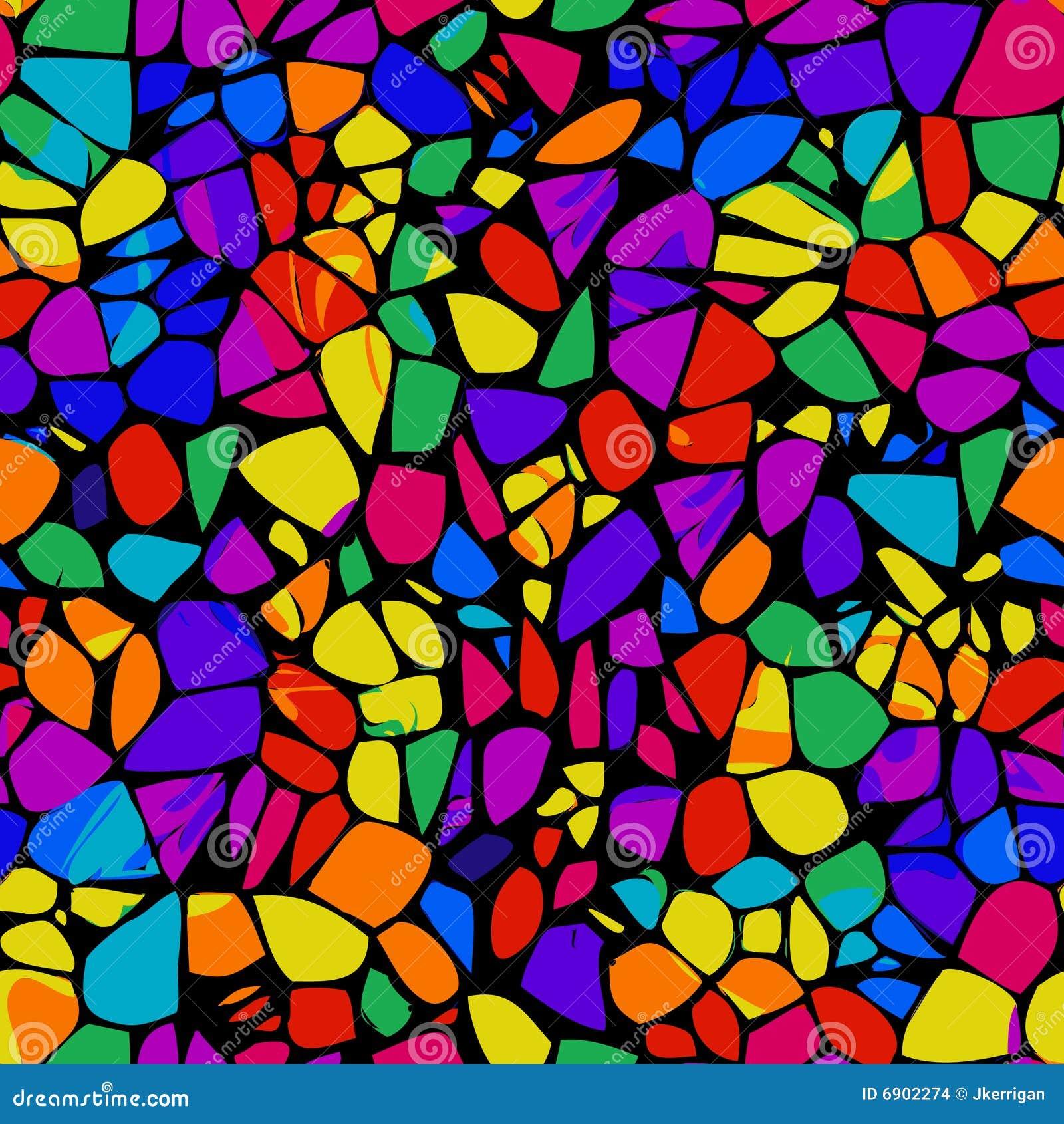 Fondo del mosaico ilustraci n del vector ilustraci n de - Mosaicos de colores ...